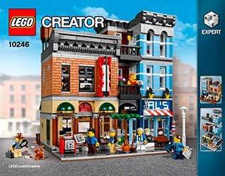 Amerikanischer Kühlschrank Expert : Lego detektivbüro creator expert detective s