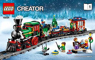 lego holiday train power functions instructions