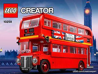 LEGO® 10258 Doppeldecker London Bus NEU//OVP