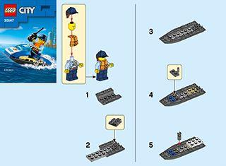 Lego® City 30567 ● Polizei Jetski ● Neu /& OVP