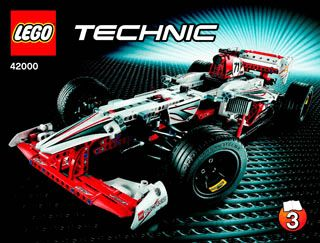 lego 42000 sportwagen technic 2013 grand prix racer. Black Bedroom Furniture Sets. Home Design Ideas
