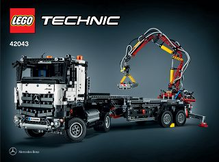 lego 42043 mercedes benz arocs 3245 technic 2015. Black Bedroom Furniture Sets. Home Design Ideas