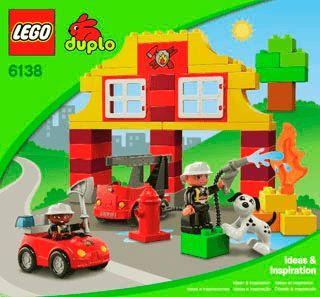 Feuerwehrstation lego duplo