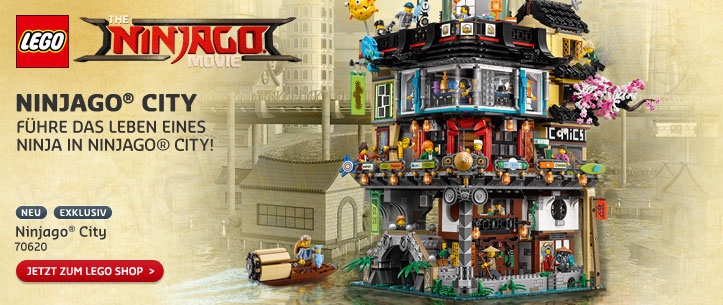 The LEGO Ninjago Movie 70620 Ninjago City im LEGO Store kaufen!