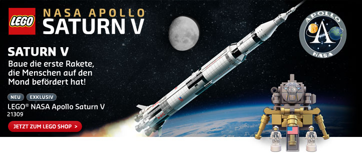 LEGO Ideas NASA Apollo Saturn V im LEGO Store kaufen!