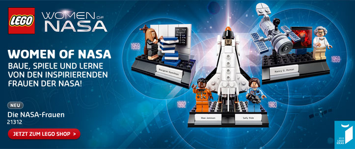 LEGO Ideas Women of NASA im LEGO Store kaufen!