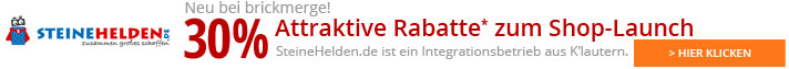 Steinehelden.de: Attraktive Rabatte zum Shop Launch!