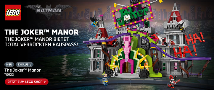 LEGO 70922 The Joker™ Manor im LEGO Store kaufen!