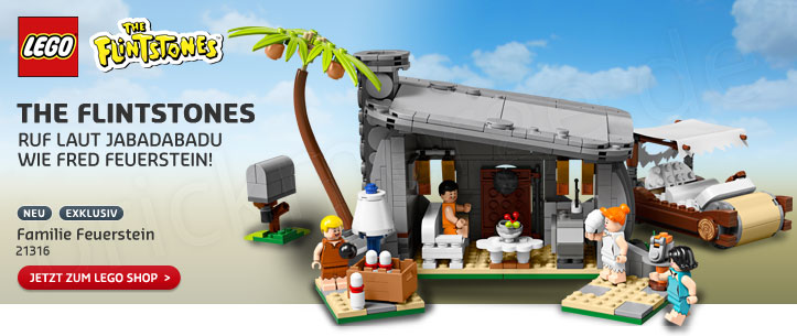 The LEGO Ideas 21316 The Flintstones - Familie Feuerstein im LEGO Store kaufen!