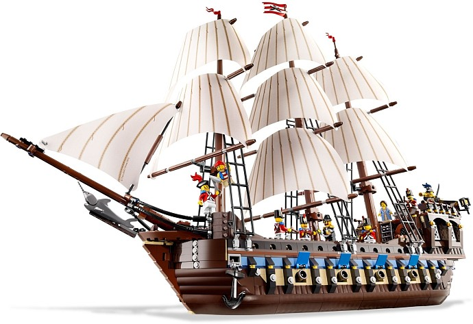 LEGO Advanced Models 10210 Segelschiff