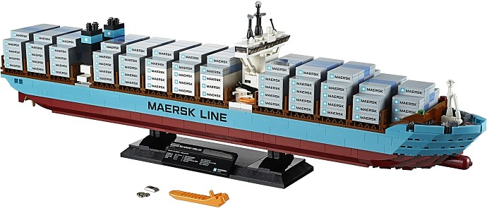 LEGO Advanced Models 10241 Maersk Containerschiff