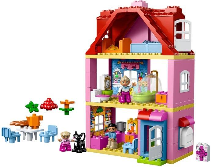 familienhaus 10505 lego duplo 2013 im preisvergleich. Black Bedroom Furniture Sets. Home Design Ideas