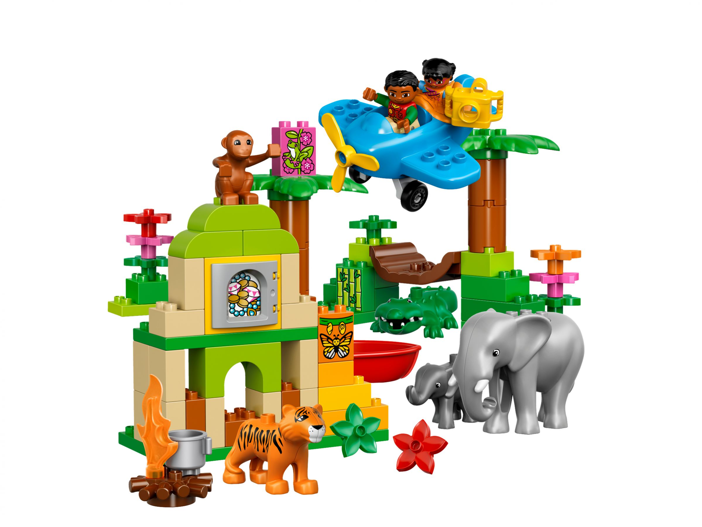 lego 10804 dschungel duplo 2016 jungle brickmerge. Black Bedroom Furniture Sets. Home Design Ideas