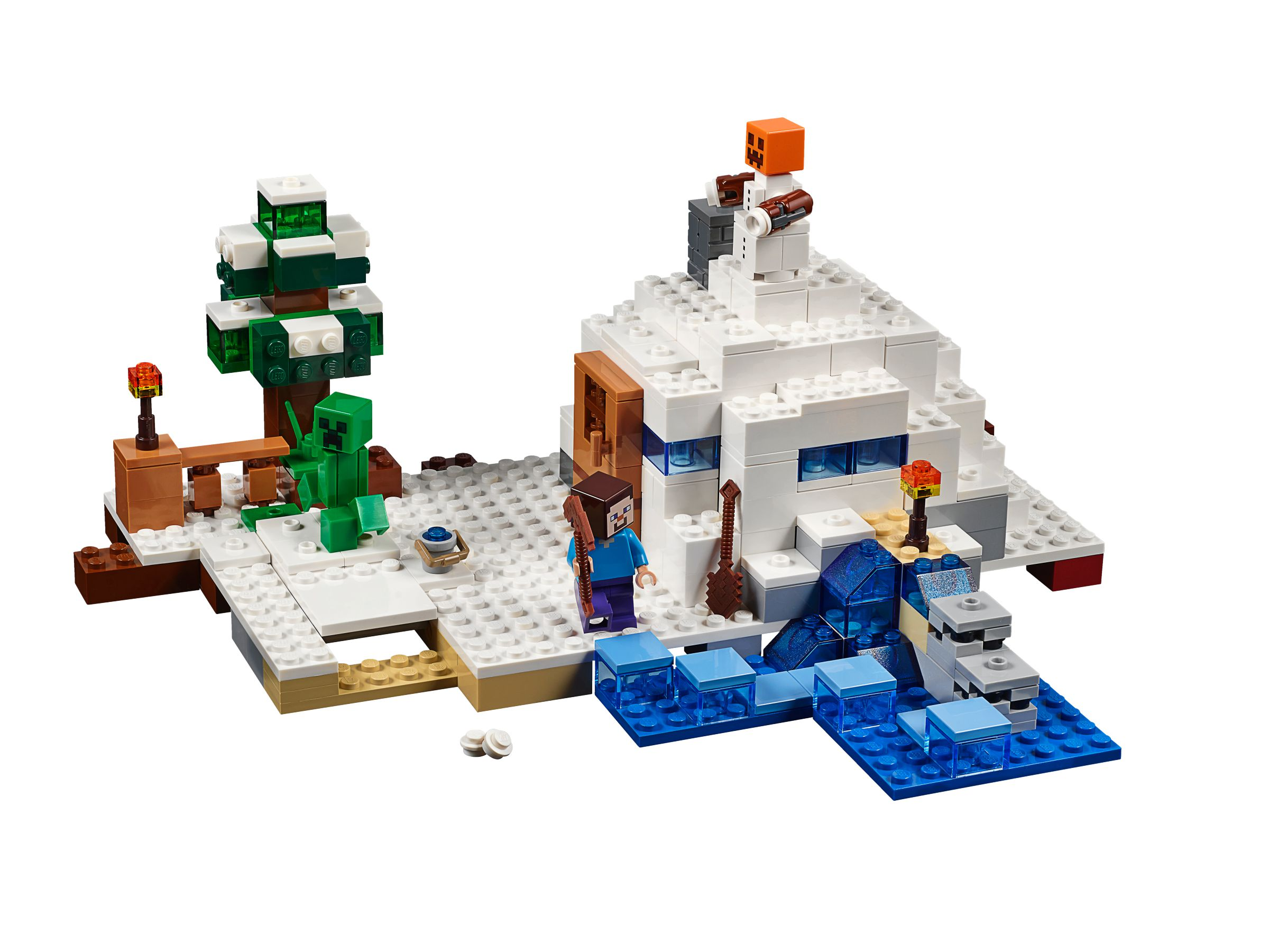 Lego 21120 Das Versteck Im Schnee Minecraft 2015 The