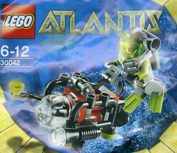 LEGO Atlantis 30042 Mini-Uboot