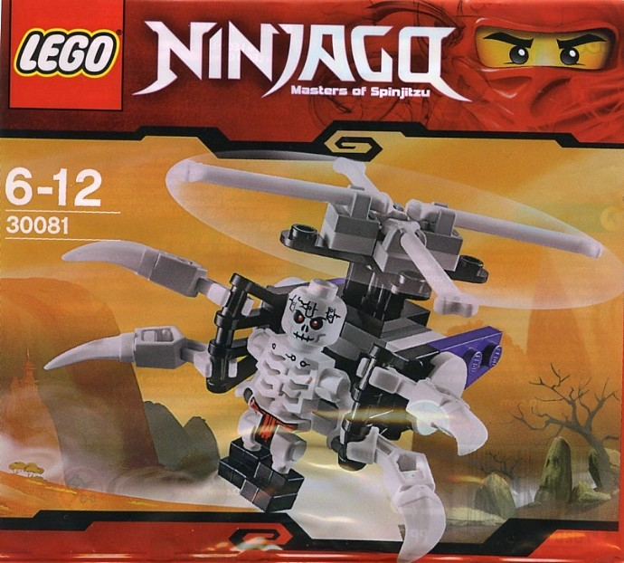 LEGO Ninjago 30081 Skeleton Chopper