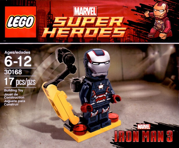 LEGO Super Heroes 30168 Gun mounting system