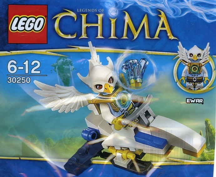 LEGO Legends Of Chima 30250 CHIMA Ewar's Acro-Fighter