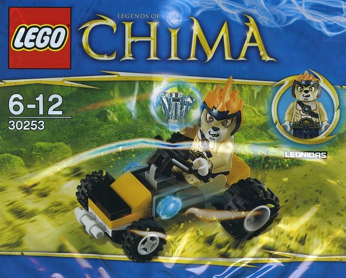 LEGO Legends Of Chima 30253 Chima Leonidas Jungle Dragster 30 Teile Set (polybag)