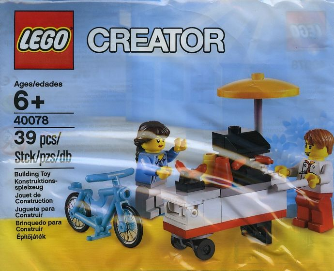 LEGO Creator 40078 Hot Dog Stand Exclusive 2013