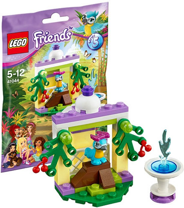 LEGO Friends 41044 Papageiengarten