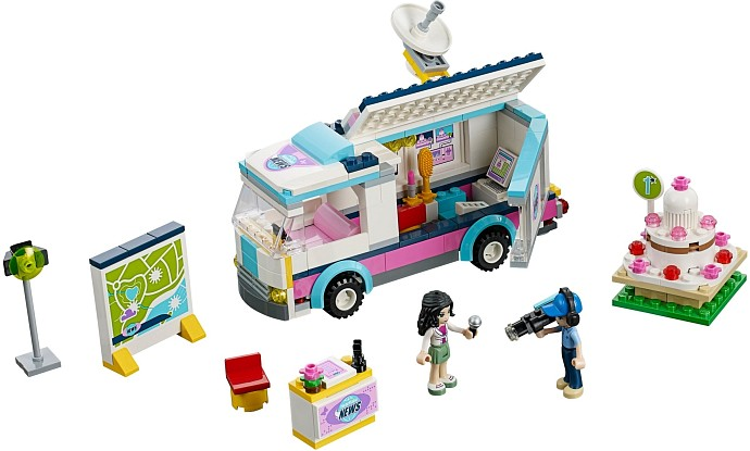 LEGO Friends 41056 Mobile Fernsehstation