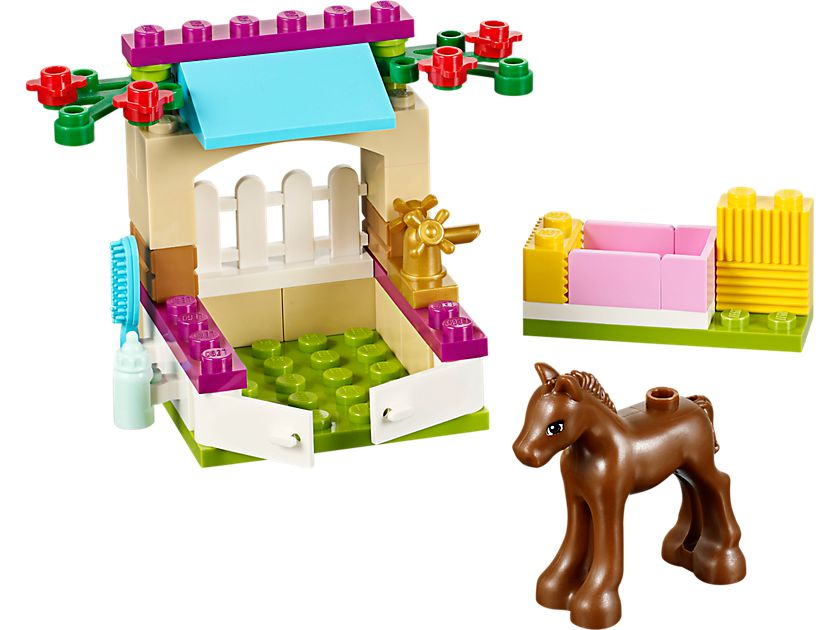 LEGO Friends 41089 Fohlen-Pflegestall