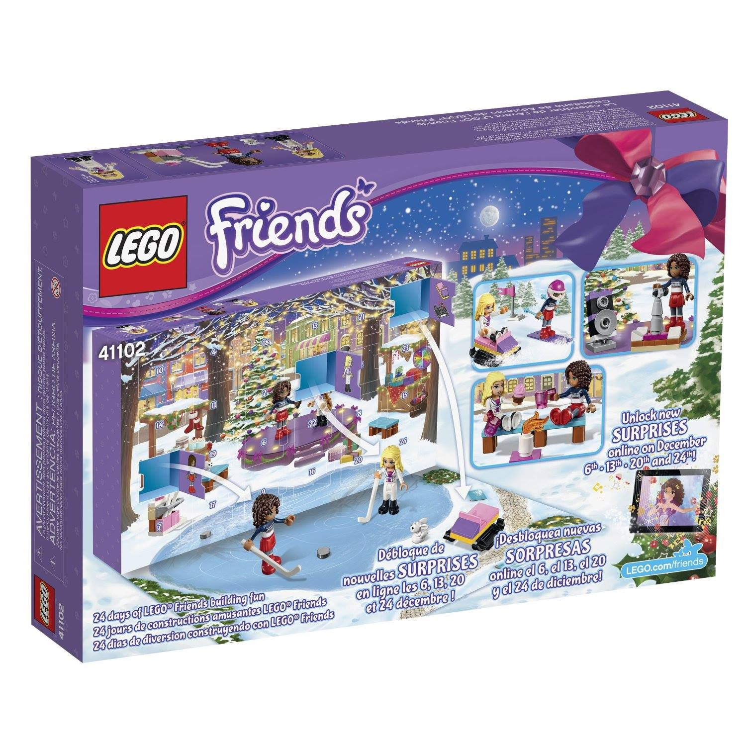 LEGO Seasonal 41102 LEGO® Friends Adventskalender 2015 41102-1_img09.jpg