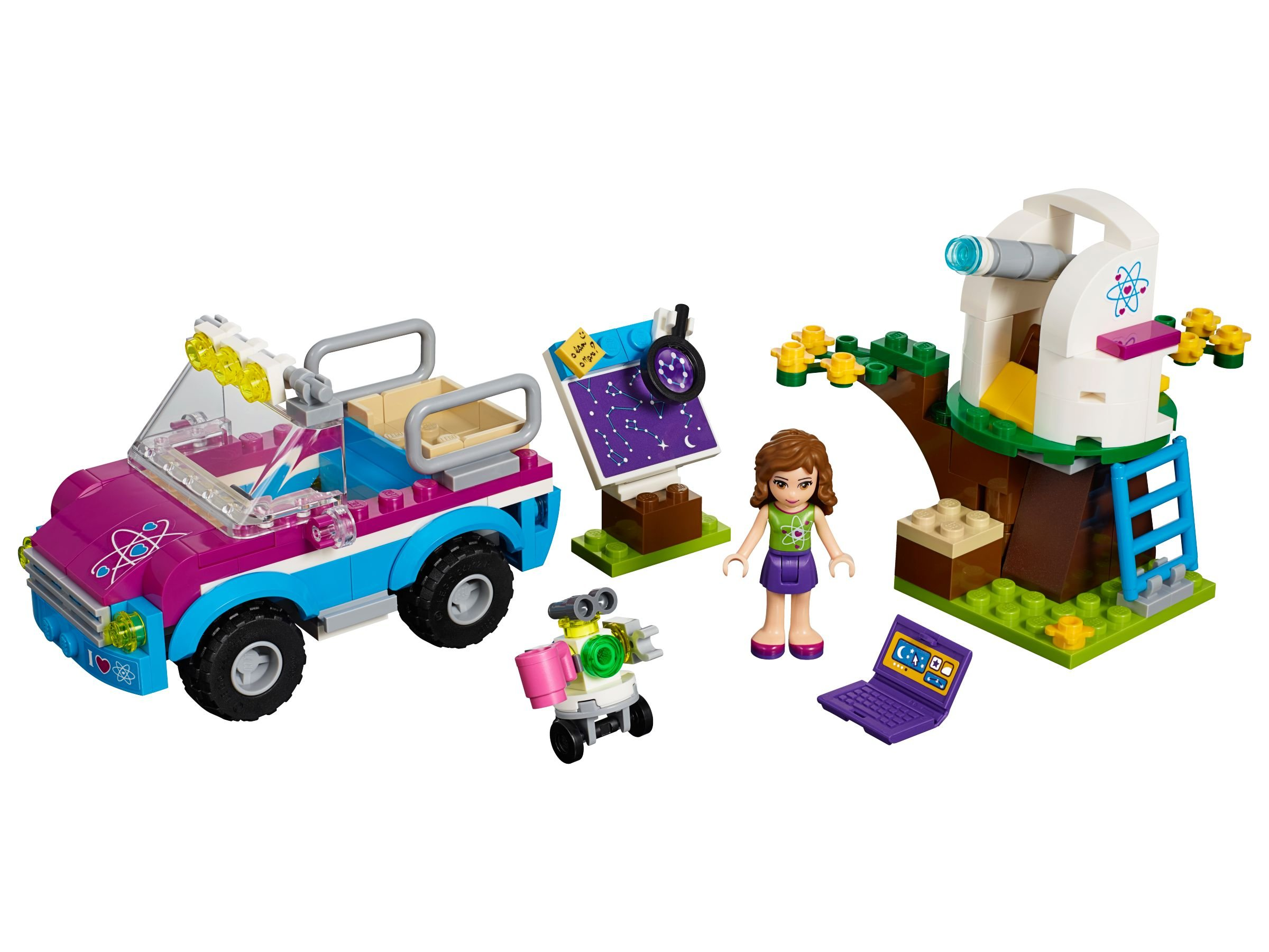 LEGO Friends 41116 Olivias Expeditionsauto