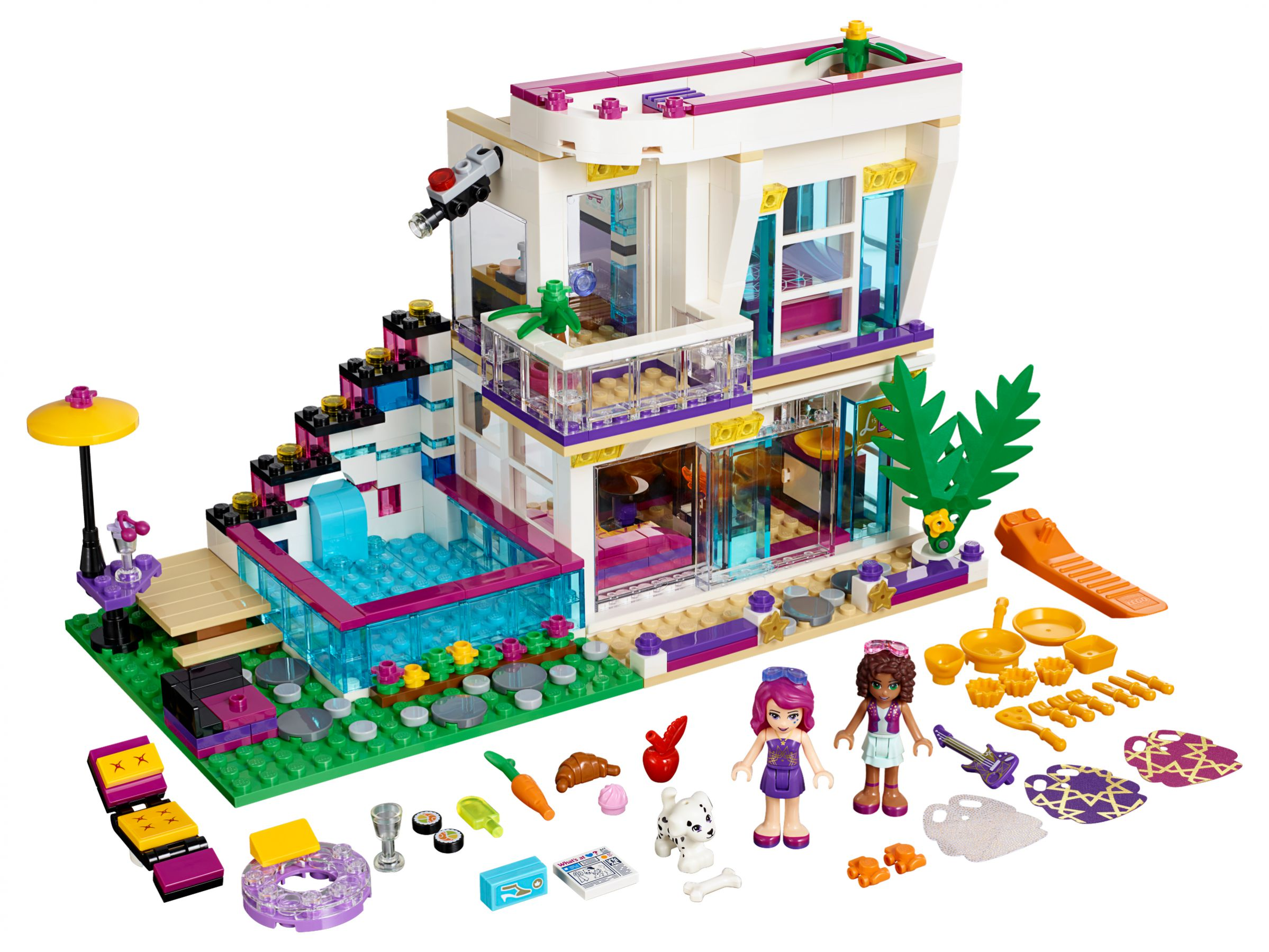 LEGO 41135 Friends Livis Popstar-Villa im brickmerge