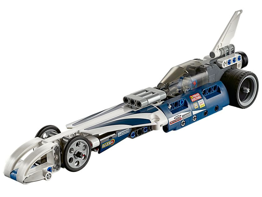 LEGO Technic 42033 Action Raketenauto