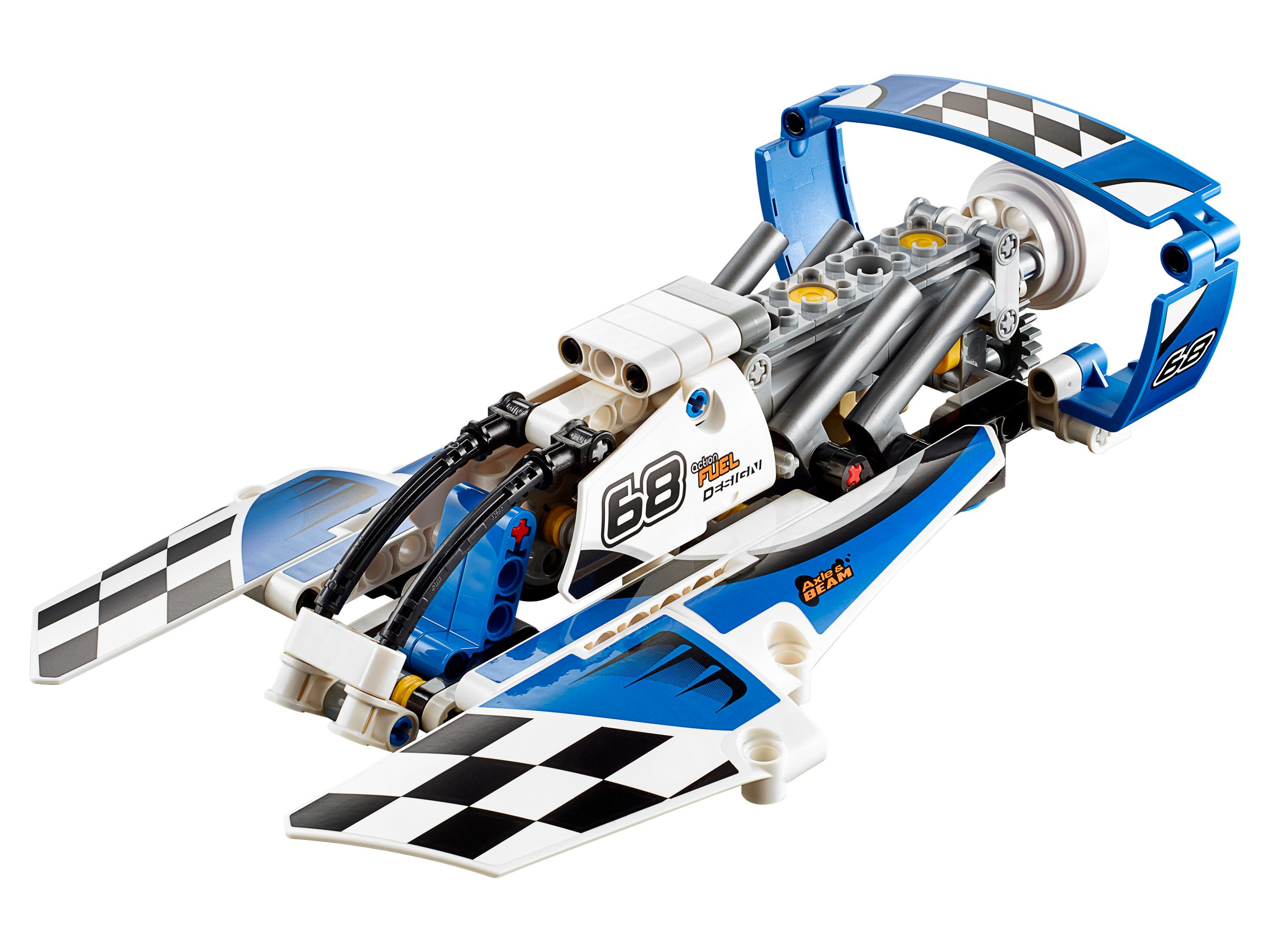 lego 42045 renngleitboot technic 2016 hydroplane racer brickmerge. Black Bedroom Furniture Sets. Home Design Ideas