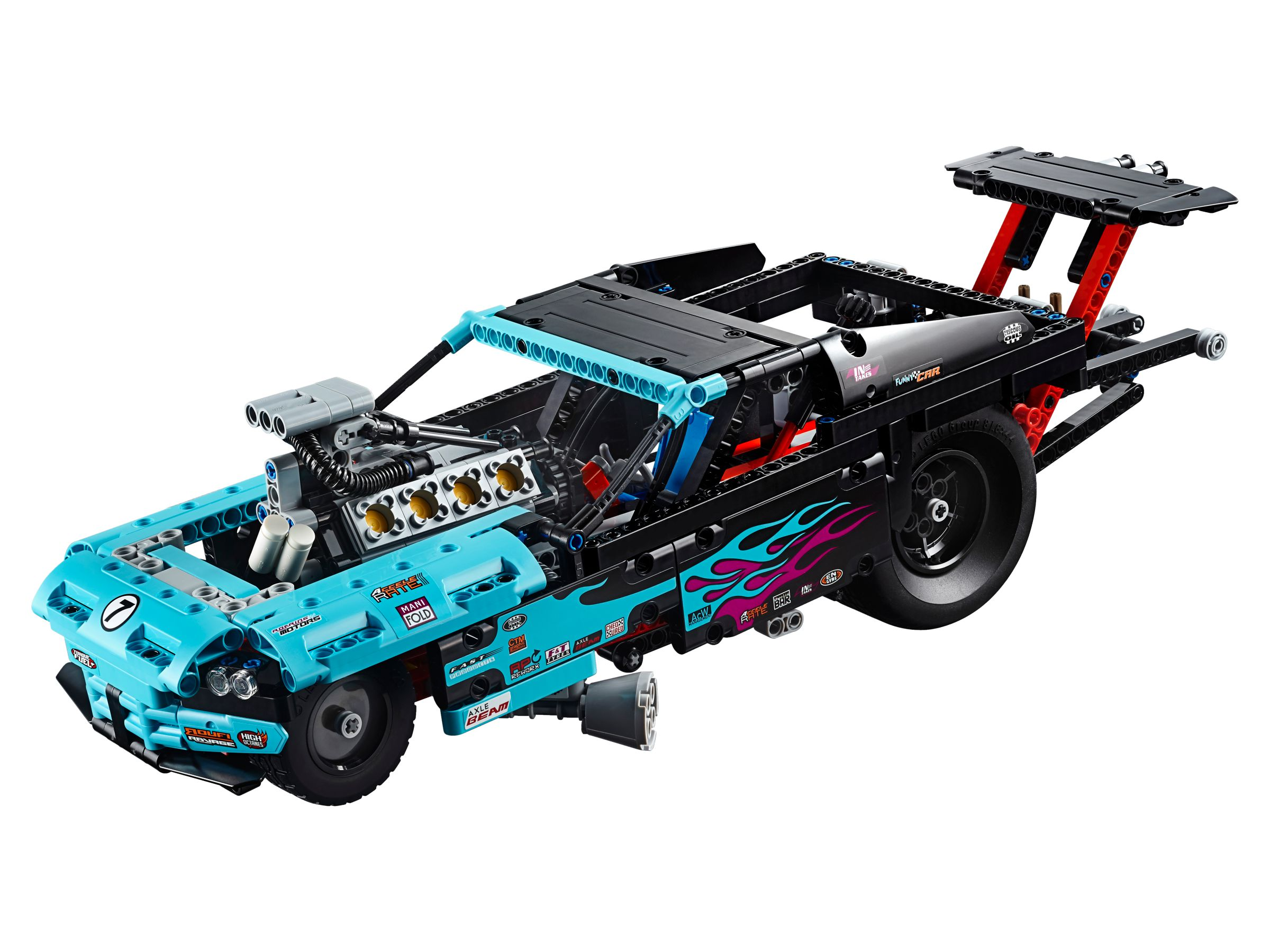 lego 42050 drag racer technic 2016 brickmerge. Black Bedroom Furniture Sets. Home Design Ideas