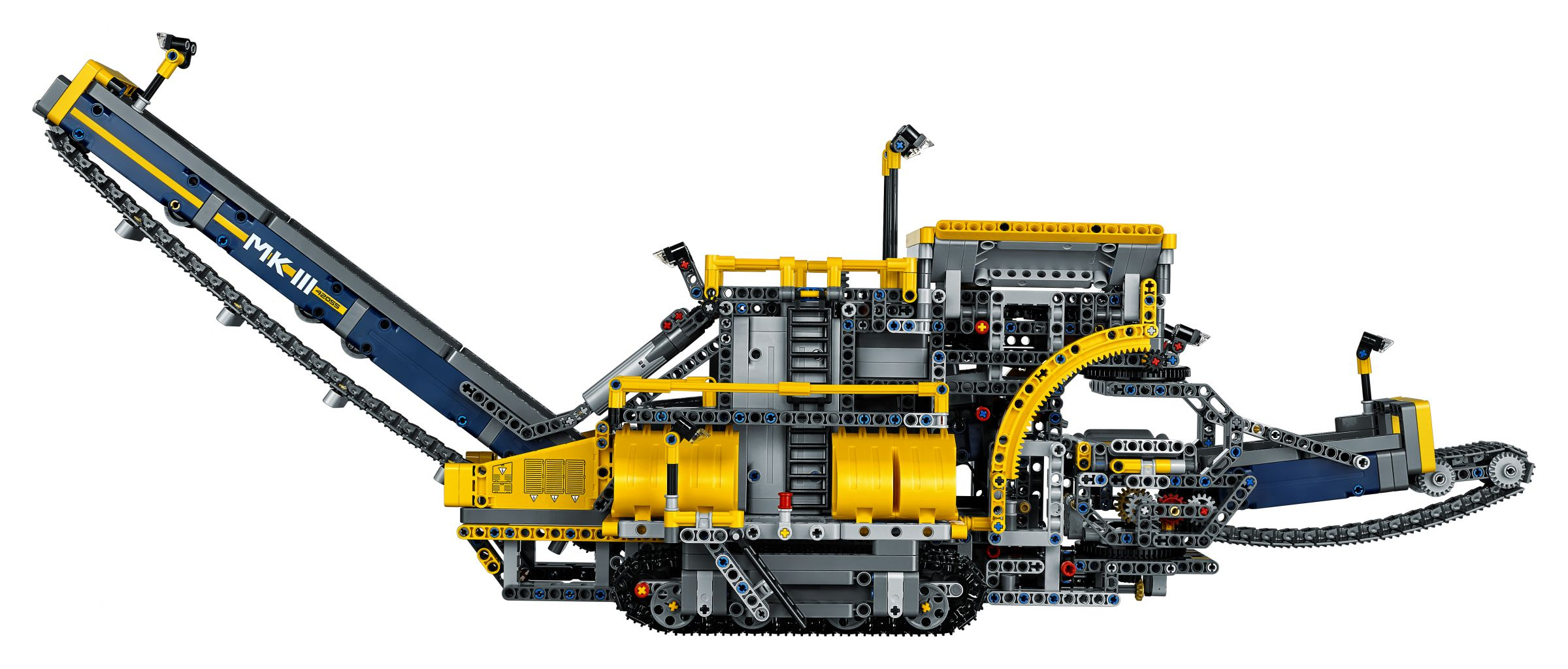lego 42055 schaufelradbagger technic 2016 ab 167 87 27 gespart bucket wheel excavator. Black Bedroom Furniture Sets. Home Design Ideas