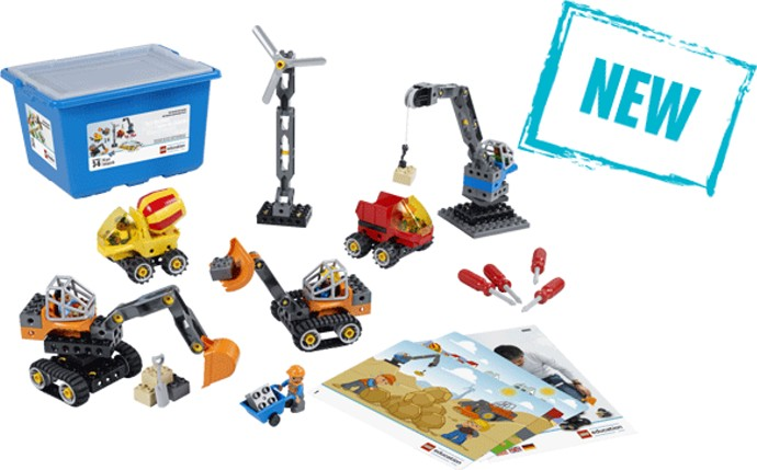 LEGO Education 45002 Tech Machines Set