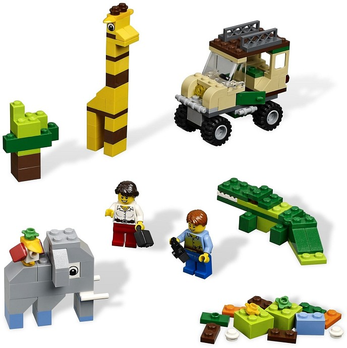 LEGO Bricks and More 4637 Safari Building Set