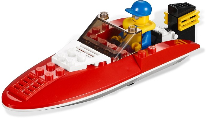 LEGO City 4641 Speedboat