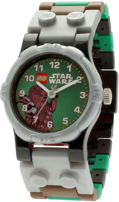 lego 5002212 lego star wars chewbacca minifiguren uhr 2013 chewbacca minifigure watch. Black Bedroom Furniture Sets. Home Design Ideas