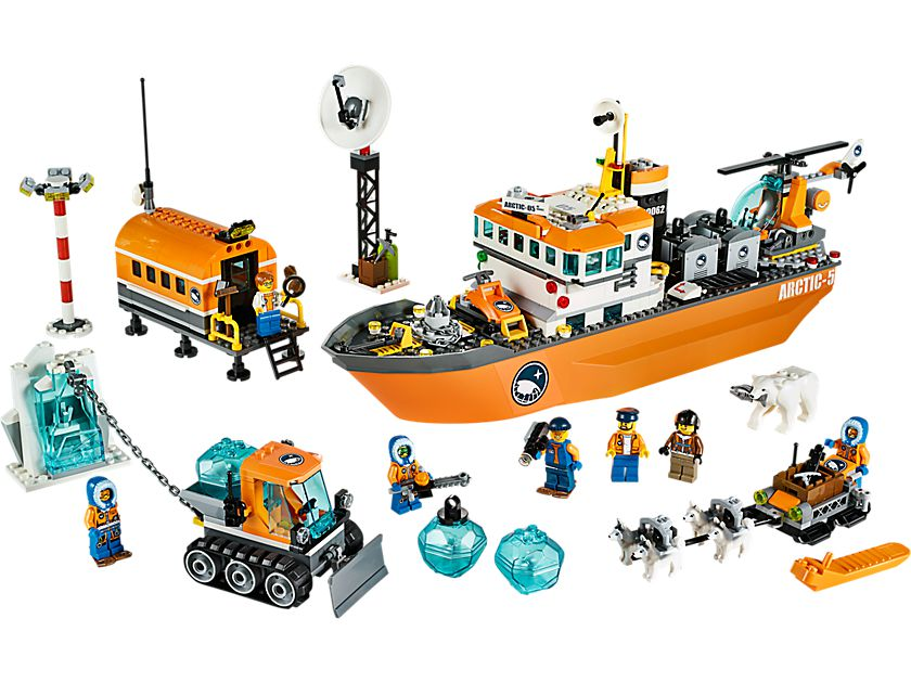 LEGO City 60062 Arktis-Eisbrecher