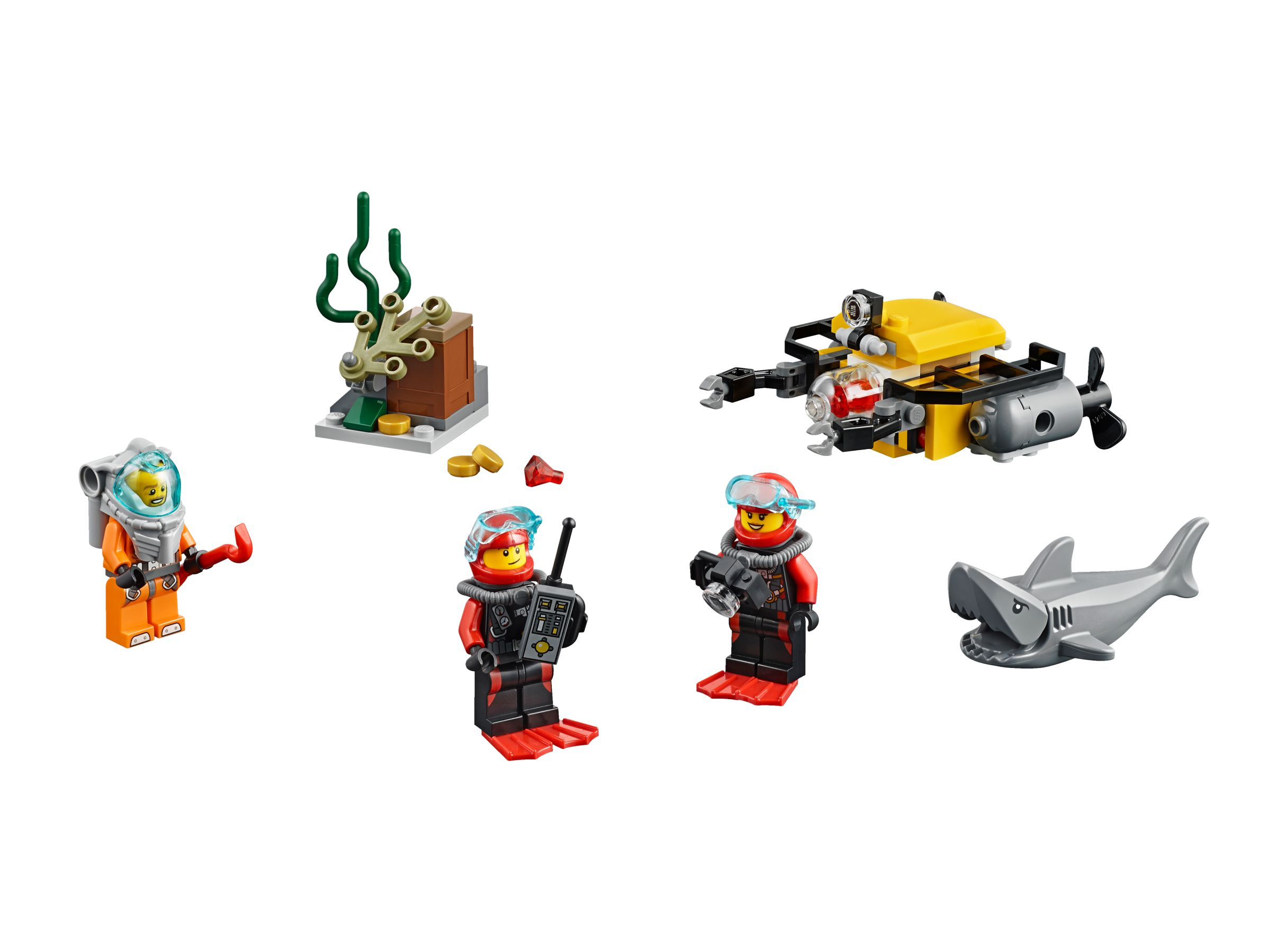 LEGO City 60091 Tiefsee Starter-Set