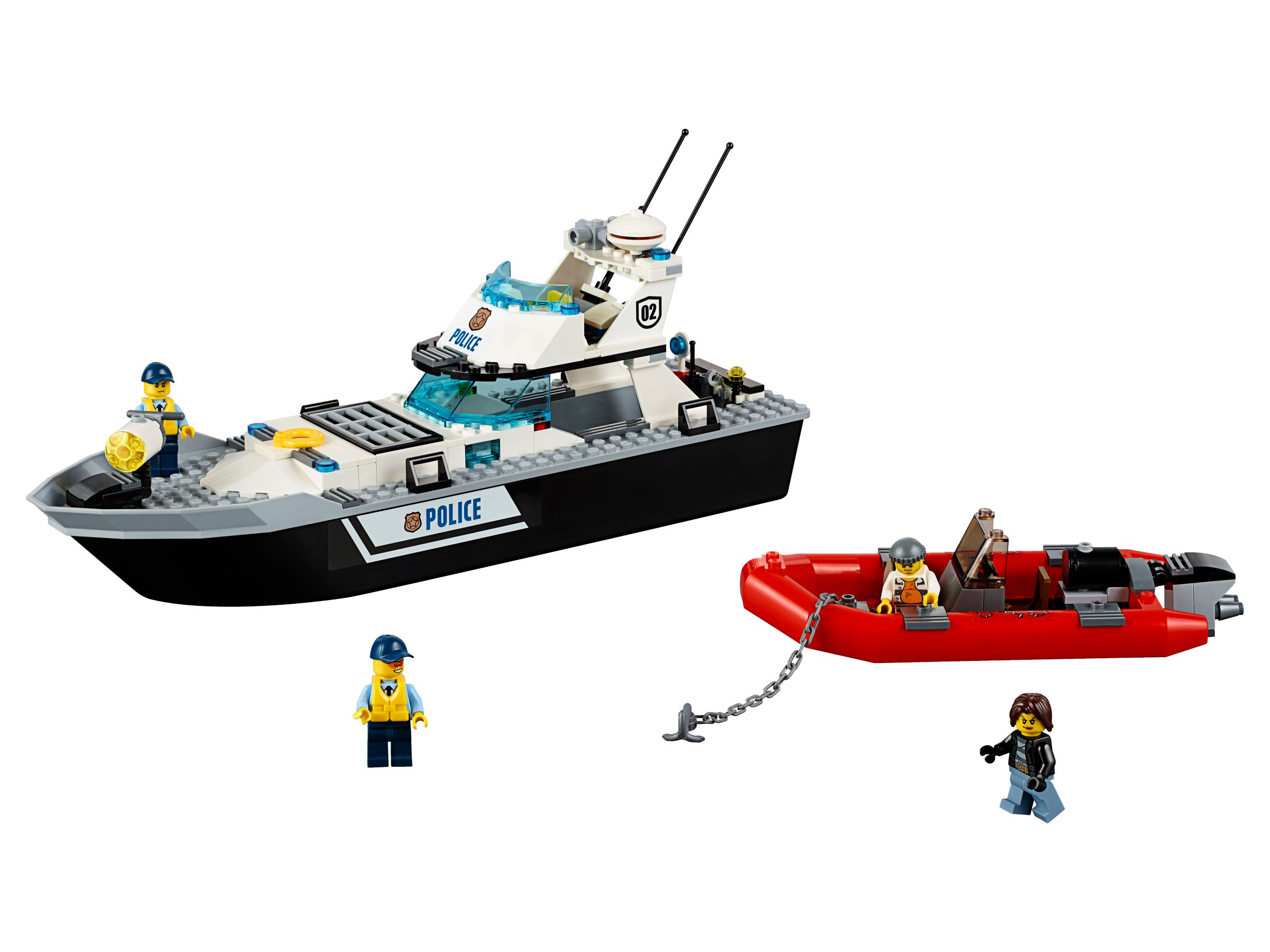 LEGO City 60129 Polizei-Patrouillen-Boot