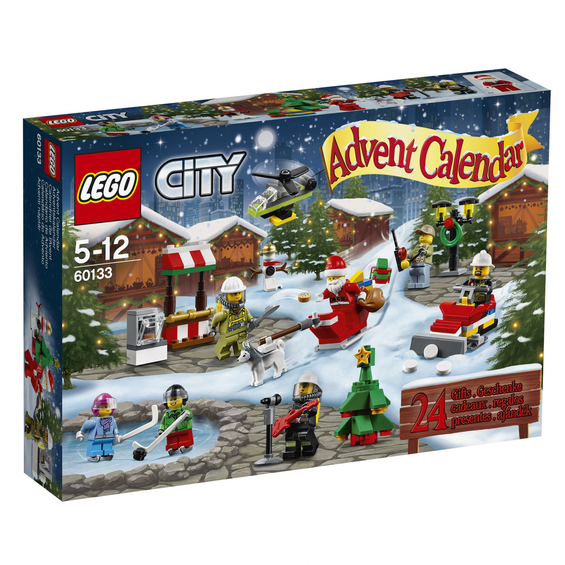 ... City 60133 LEGO® City Adventskalender ...