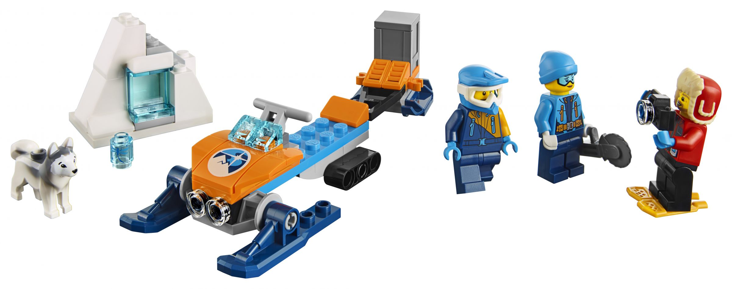 LEGO City 60191 Arktis-Expeditionsteam