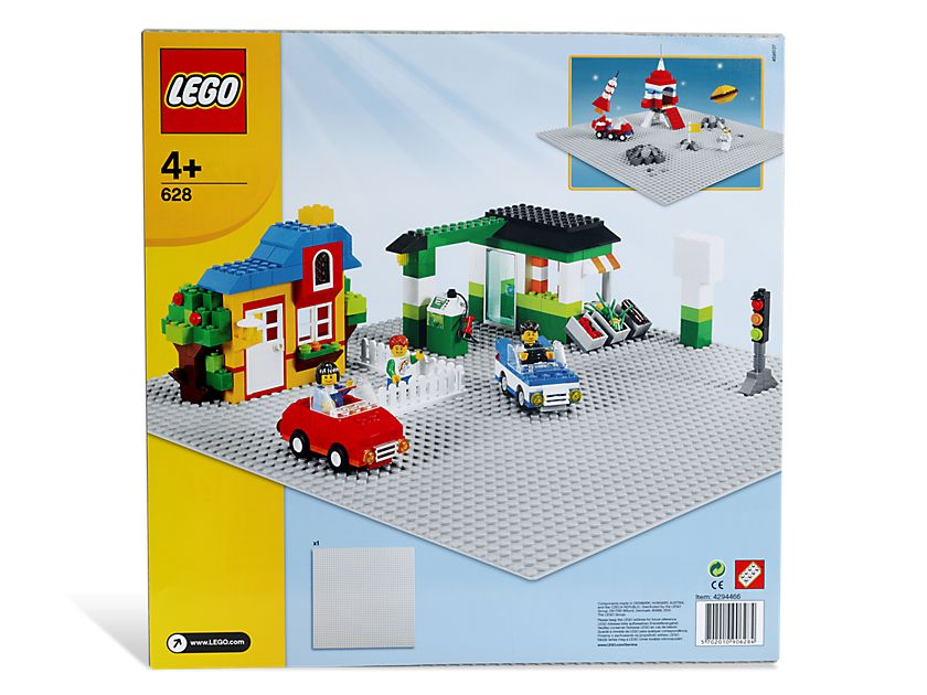 LEGO Bricks and More 628 48x48 Bauplatte Asphalt