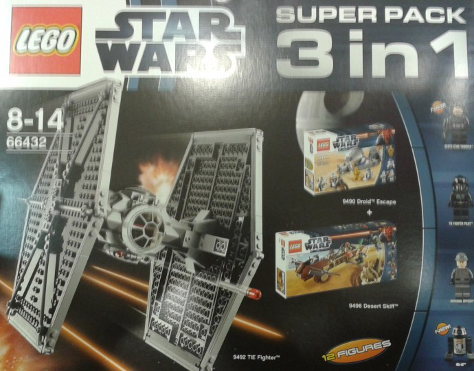 LEGO Star Wars 66432 Super Pack 3-in-1