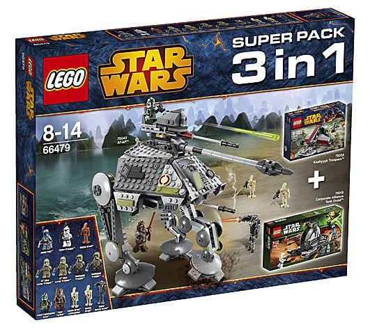 LEGO Star Wars 66479 Superpack  3in1 75015 + 75035 + 75043