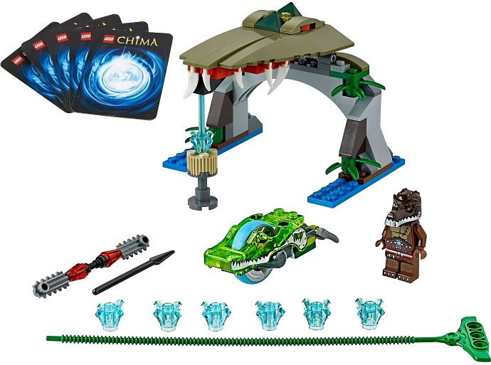 LEGO Legends Of Chima 70112 Croc-Falle