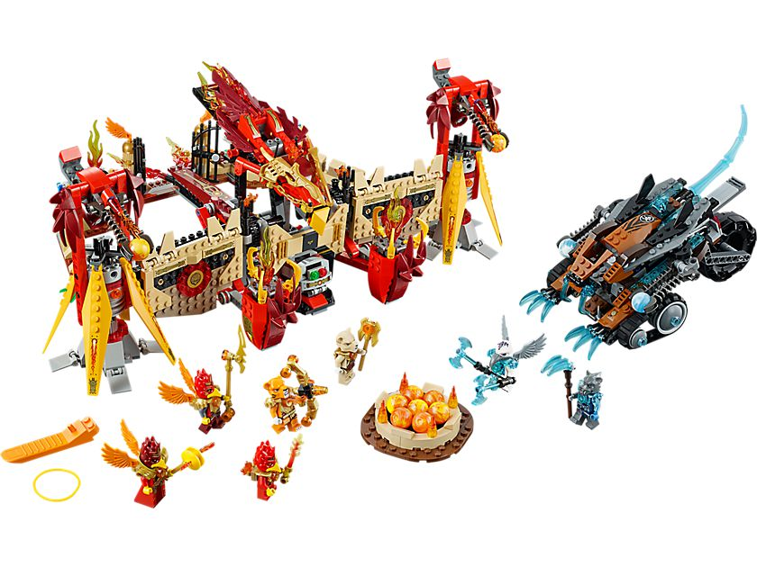 LEGO Legends Of Chima 70146 Phoenix Fliegender Feuertempel