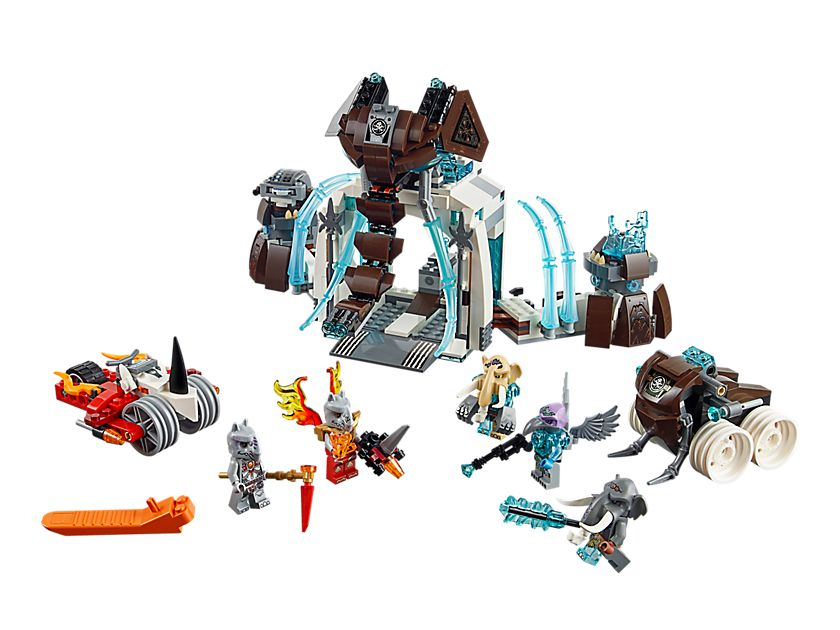 LEGO Legends Of Chima 70226 Die Eisfestung der Mammuts