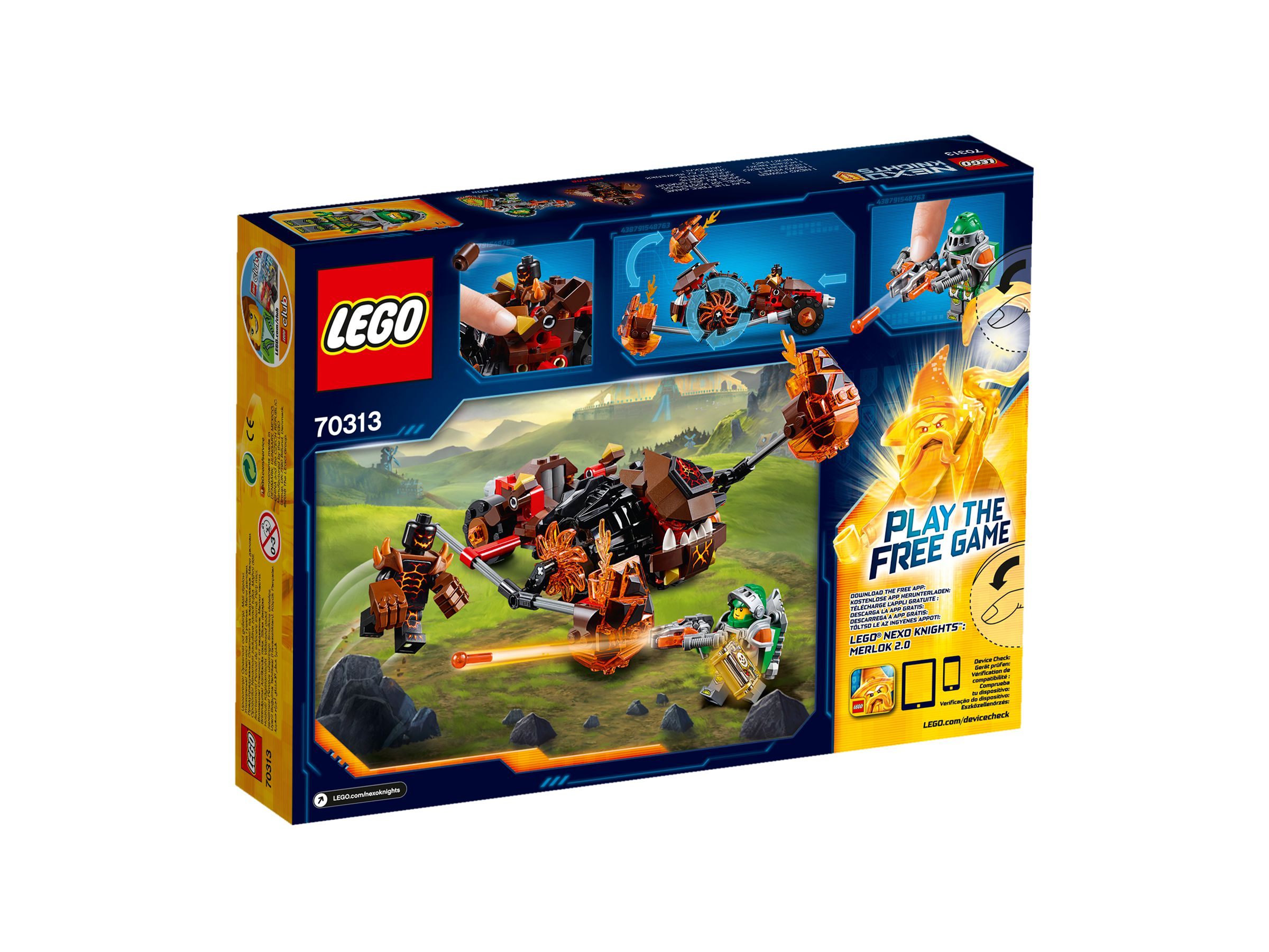 LEGO Nexo Knights 70313 Moltors Lava-Werfer 70313_backside.jpg